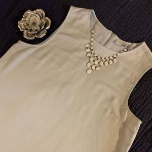 14th and Union Sleeveless Top Tank Shirt Pale Blue
